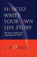 How to Write Your Own Life Story PDF