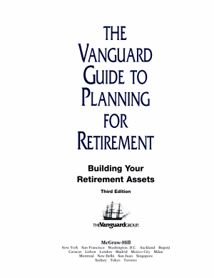 The Vanguard Guide to Planning for Retirement PDF