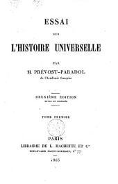 Essai sur l'histoire universelle: Volume1