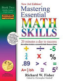 Mastering Essential Math Skills  Book 1  Middle Grades High School  3rd Edition  20 Minutes a Day to Success