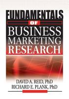 Fundamentals of Business Marketing Research PDF