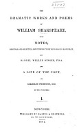 The Dramatic Works and Poems of William Shakspeare PDF