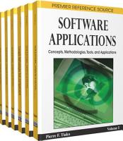 Software Applications  Concepts  Methodologies  Tools  and Applications PDF
