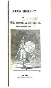 Nordisk tidskrift för politik, ekonomi och litteratur: Bind 2