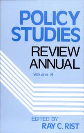 Policy Studies Review Annual: Volume 8