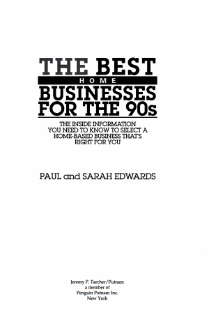 The Best Home Businesses for the 90s PDF