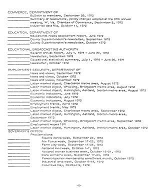 Checklist  West Virginia State Publications PDF