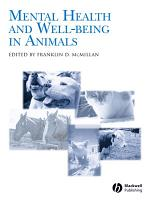 Mental Health and Well Being in Animals PDF