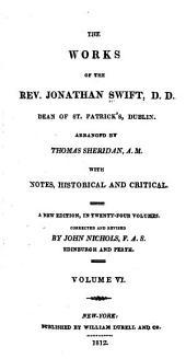 The works of the Rev. Jonathan Swift, D.D.: Dean of St. Patrick's, Dublin, Volume 6