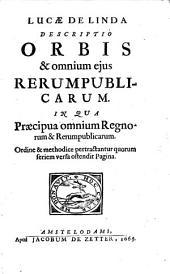 Descriptio orbis et omnium eius rerum publicarum