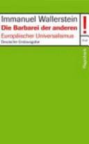 Die Barbarei der anderen PDF