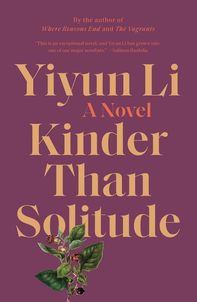Download Kinder Than Solitude Book