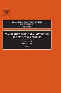 Comparative Public Administration Book