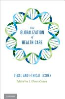 The Globalization of Health Care PDF