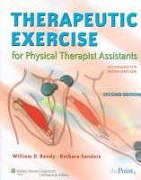 Therapeutic Exercise for Physical Therapist Assistants PDF