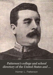 Patterson's College and School Directory of the United States and Canada: Volume 3