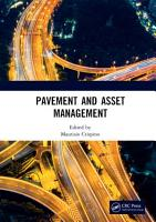 Pavement and Asset Management PDF