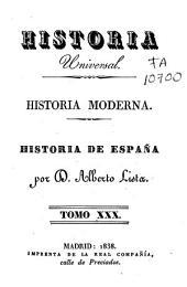 Historia moderna: Historia de España, Volumen 30