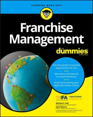 Franchise Management For Dummies PDF