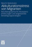 Akkulturationsstress von Migranten PDF