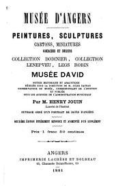 Peintures, sculptures, cartons, miniatures, gouaches et dessins: collection Bodinier, collection Lenepveu, Legs Robin