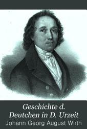 Geschichte d. Deutchen in d. Urzeit: Bände 1-2