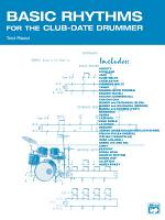 Basic Rhythms for the Club Date Drummer PDF