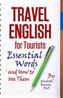 Travel English for Tourists PDF