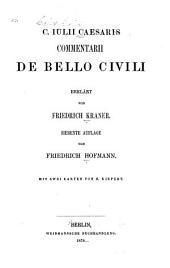 C. Julii Caesaris Commentarii de bello civili