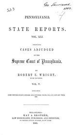 Pennsylvania State Reports: Volume 41