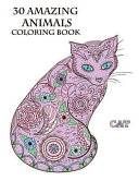 30 Amazing Animals Coloring Book
