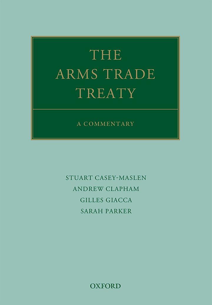 The Arms Trade Treaty