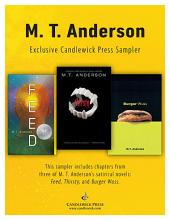 M.T. Anderson: Exclusive Candlewick Press Sampler