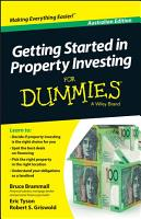 Getting Started in Property Investment For Dummies   Australia PDF