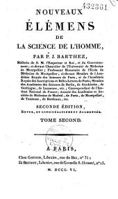 Nouveaux éléments de la science de l'homme: Volume2