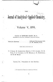 The Journal of Analytical and Applied Chemistry: Volume 5