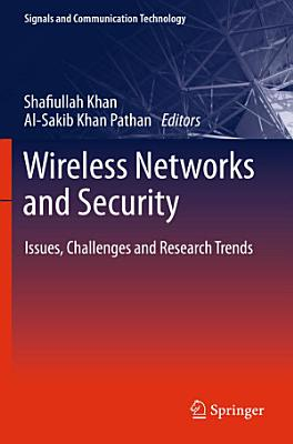 Wireless Networks and Security PDF
