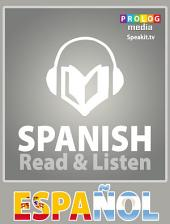 Spanish phrase book | Read & Listen | Fully audio narrated (51004): 20 chapters, over 2.5 hours of audio recording