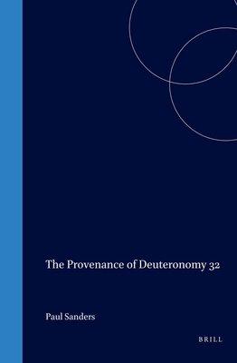 Provenance of Deuteronomy Thirty two PDF