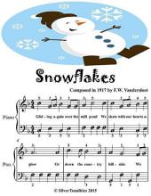 Snowflakes - Easiest Piano Sheet Music Junior Edition