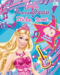 Barbie The Princess   Popstar Sticker Scene PDF
