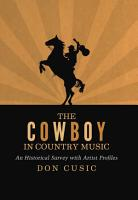 The Cowboy in Country Music PDF