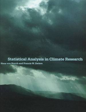 Statistical Analysis in Climate Research PDF