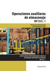 MF1325_1 - Operaciones auxiliares de almacenaje