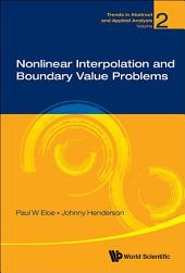Nonlinear Interpolation And Boundary Value Problems