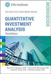 Quantitative Investment Analysis Workbook: Edition 3