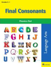 Final Consonants: Phonics First