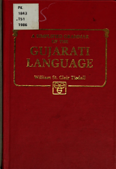 A Simplified Grammar of the Gujarati Language  Together with a Short Reading Book and Vocabulary PDF