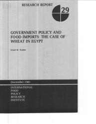Government Policy and Food Imports PDF