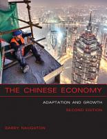 The Chinese Economy  second edition PDF